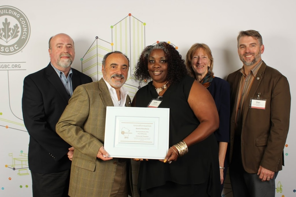 USGBC-WI Community Champion Award to HACM