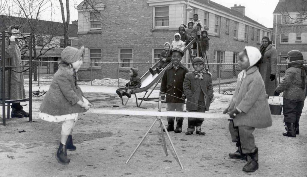 Hillside Terrace Playground 1959