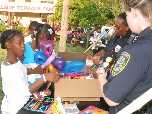 HACM Public Safety at National Night Out
