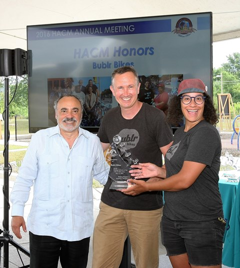 HACM 2016 Annual Meeting Honors Bublr Bikes