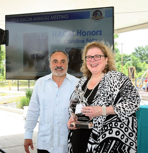 HACM 2016 Annual Meeting Honors Christine Faltz