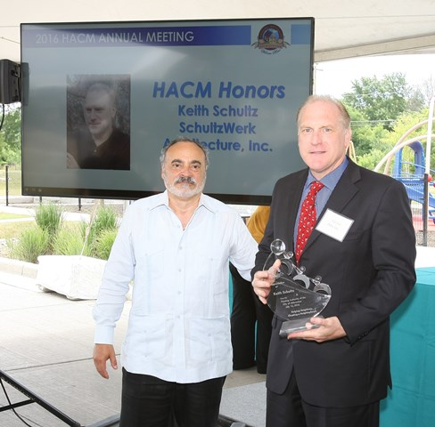 HACM 2016 Annual Meeting Honors Keith Schultz