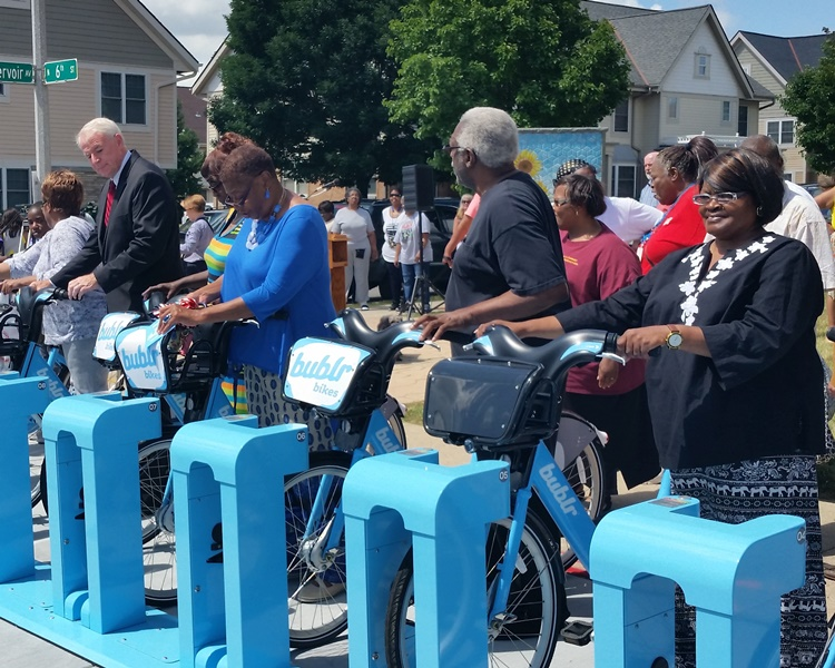 HACM-Bublr Bikes Partnership Announcement 07-08-16