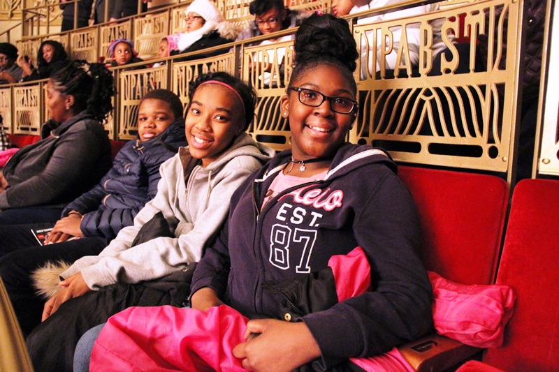 Youth at Milwaukee Rep's A Christmas Carol