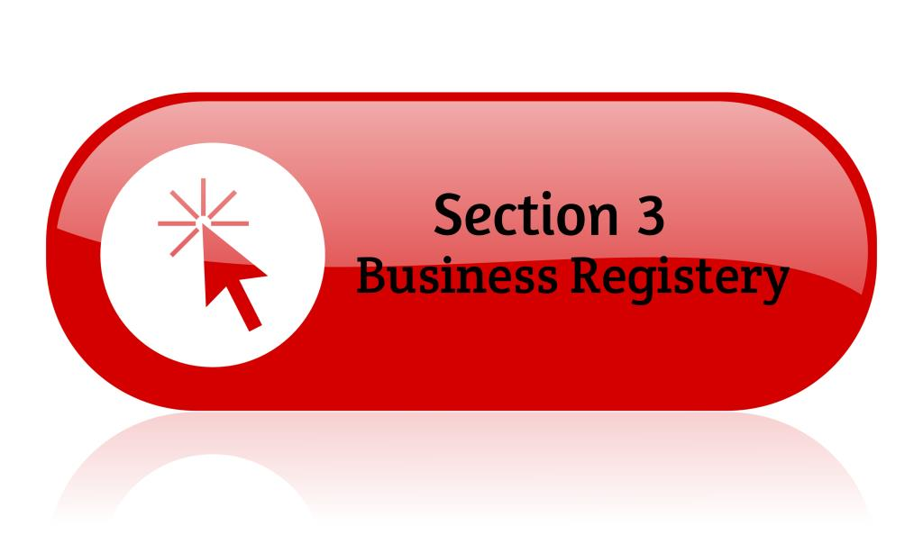 Section 3 Business Registery