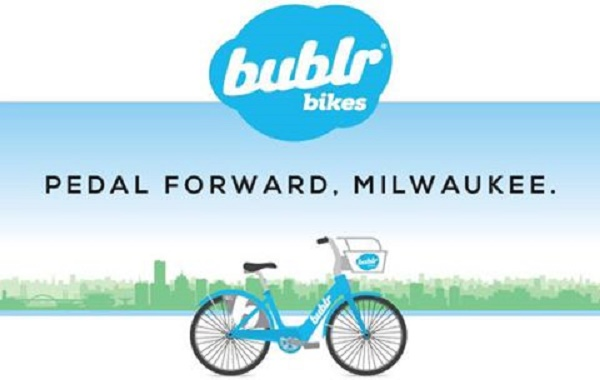 bublr bikes Pedal Forward, Milwaukee