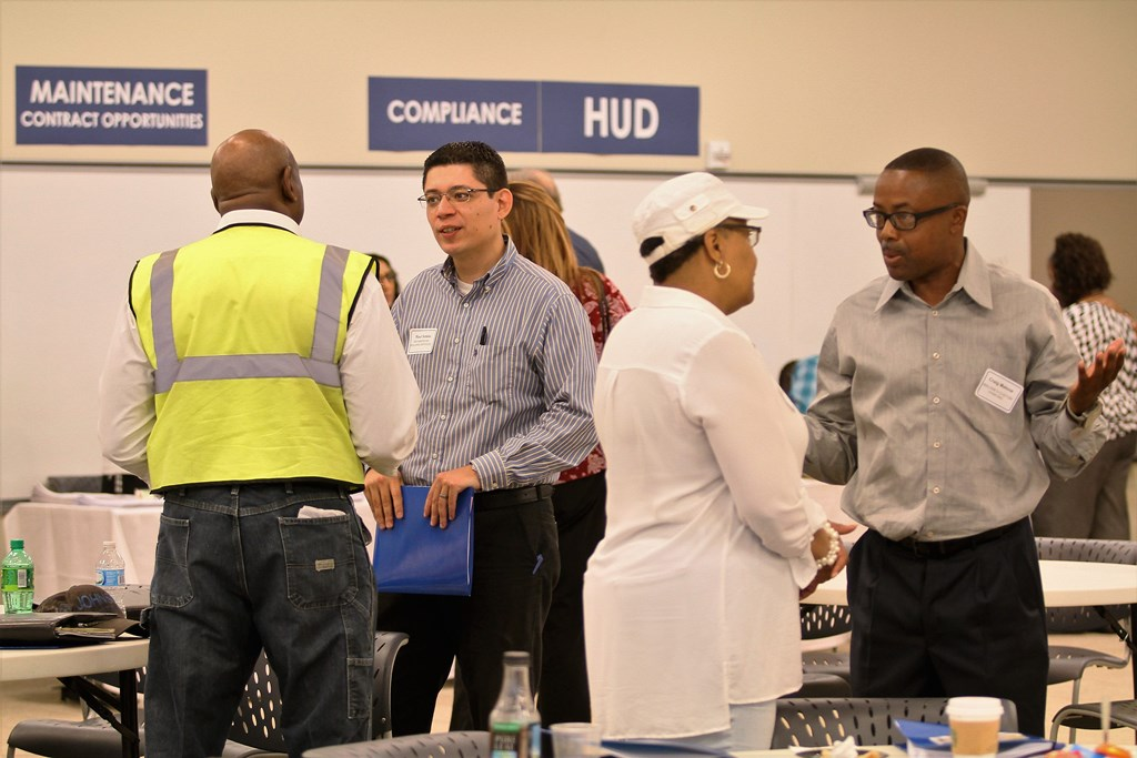Contractor Fair Attendees