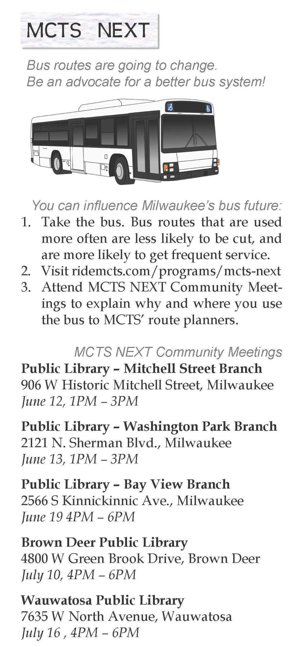 MCTS NEXT_meeting schedule
