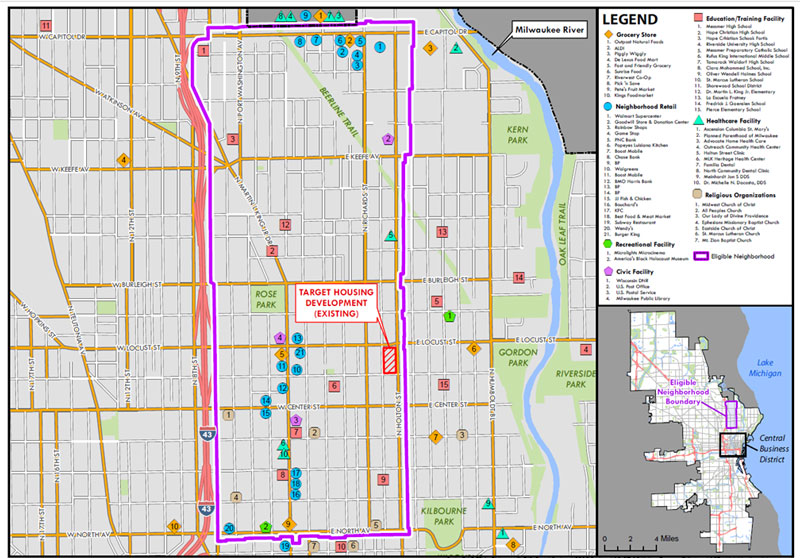CNI Plan Neighborhood Assets Map