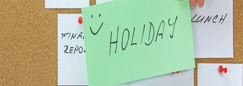 HACM Holiday Policy
